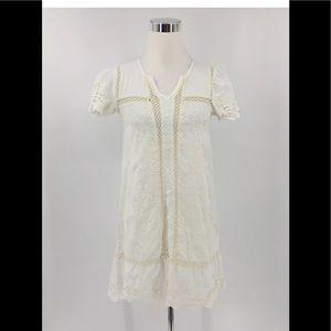 Anthropologie Holding Horses Crochet Dress Size 2